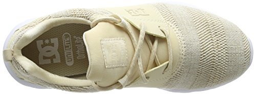 TX Heathrow Se Shoes Mujer DC Taupe Tau para Zapatillas Beige qU7fwwE