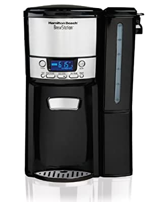Hamilton Beach 12-Cup Coffee Maker, Programmable BrewStation Dispensing Coffee Machine (47900) from Hamilton Beach