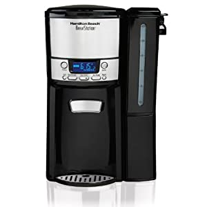 Hamilton Beach 12-Cup Coffee Maker, Programmable BrewStation Dispensing Coffee Machine (47900),Black – Removable…