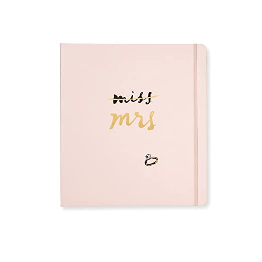 9603b194527 Amazon.com : kate spade new york Bridal Planner - Miss To Mrs : Office  Products