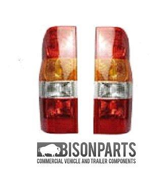 Bison - Coppia di fanali posteriori (sinistro e destro) BISON PARTS