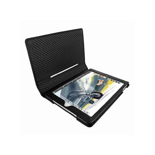 Apple iPad Air Piel Frama Black Karabu Magnetic Leather Cover by Piel Frama