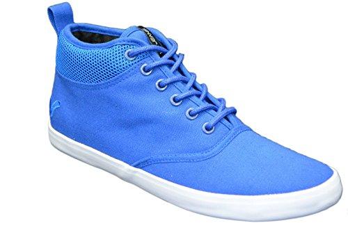 Zapatillas funda Voi Jeans para hombre elegante Hi Top Zapatos Gimnasio Walking bombas zapatillas calzado azul real