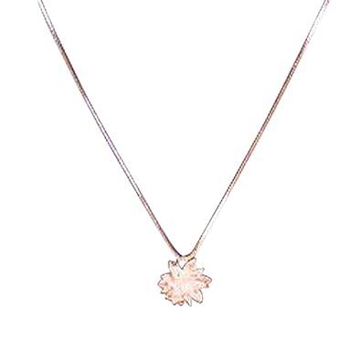 Amazon 14k modern elegance snow flower necklace white gold amazon 14k modern elegance snow flower necklace white gold plated jewelry mightylinksfo