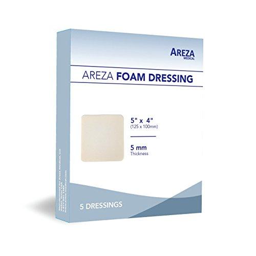 Biatain Adhesive Foam Dressing - Foam Dressing Polyurethane 5