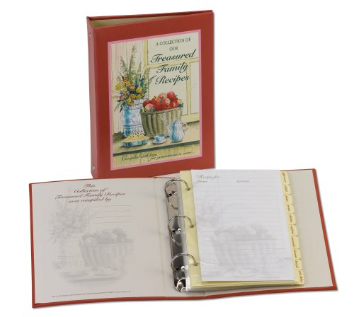 Meadowsweet Kitchens Treasured Family Recipe Organizer