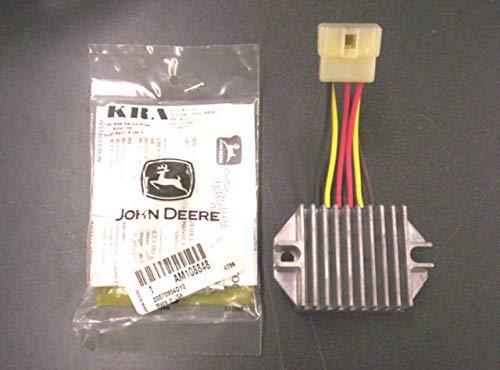 John Deere Kawasaki Voltage Regulator & Plug AM126304 AM108848 240,265,425,445