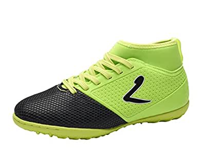 Larcia Kids' Verde Indoor Soccer Shoe