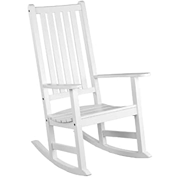 alexander rose new england white rocking chair garden armchair