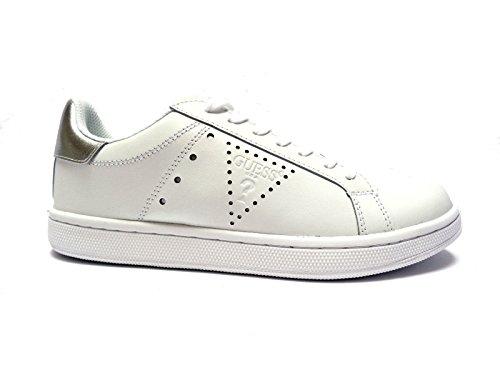 Guess - Zapatillas de Piel para hombre blanco Bianco 41