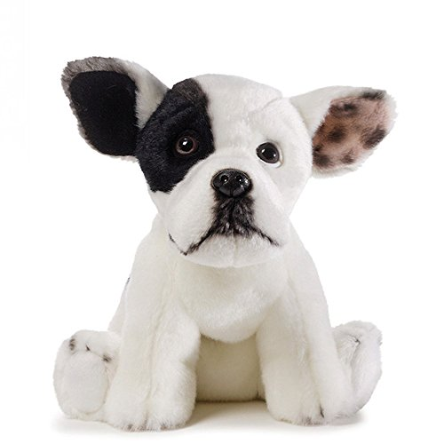 GUND Jonny Justice Top Dog Stuffed Animal Plush, - Dog Gund Toy White
