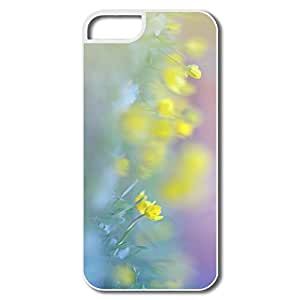 Funny Blurred Flowers Image Pc Case For IPhone 5/5s