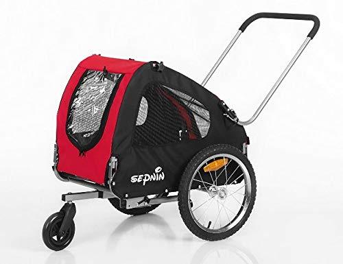 Sepnine 10305 Dog Pet Bicycle Trailer Stroller