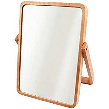 Amazon Com Alierkin Tabletop Vanity Makeup Mirror