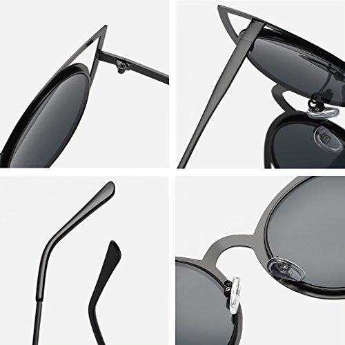 Gpk gran sol JAGENIE diseño clásico UV400 mujer de para Bk Gafas tamaño 4pTwWpqvO