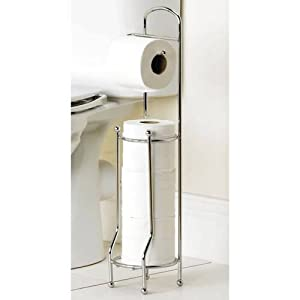 Caraselle Chrome Toilet Roll Holder from