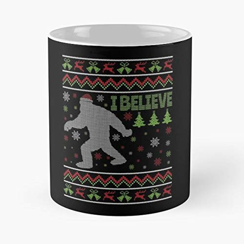 (Ugly Christmas Abominable Snowman Style Kids - Funny Sophisticated Design Great Gifts -11 Oz Coffee Mug.the Best Gift For Holidays.)