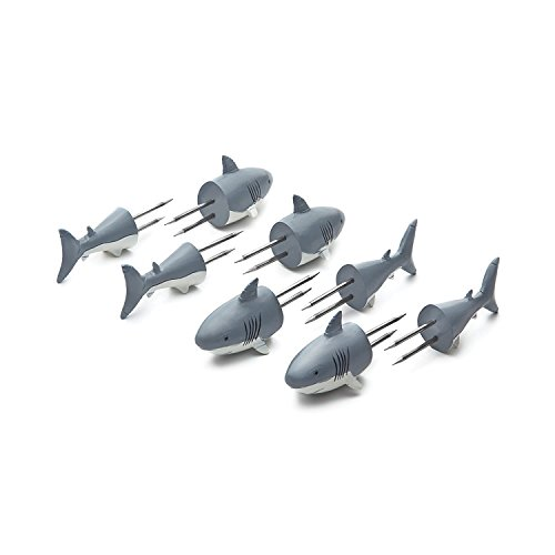 Outset 76168 Shark Corn Holders Shark Corn Holders Shark Corn Holders