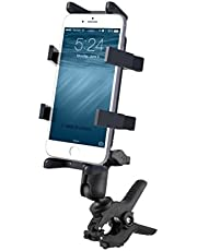 RAM Medium Tough-Clamp Handlebar Finger-Grip Mount fits Cell Phones Smartphones