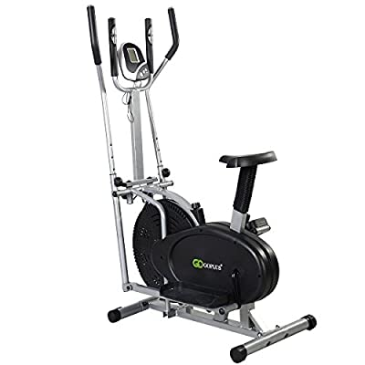 Modern Delxe Bike Dual Cross Trainer Machine Exercise Upgraded Model - P19
