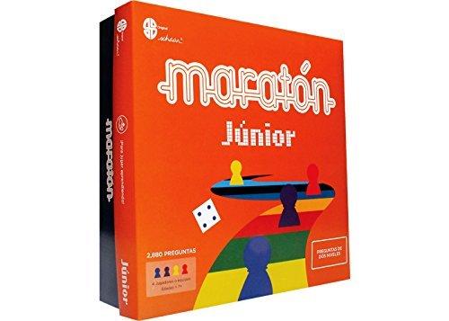 Junior Marathon Board Game Original Edition - Maraton Junior Juego de Mesa Version Original (Spanish Edition)