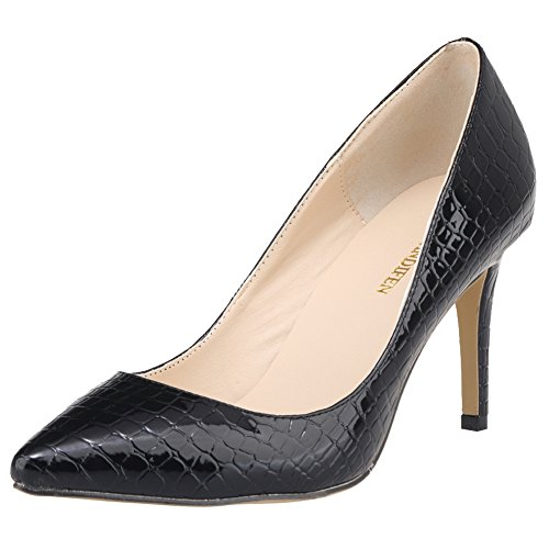 Femme 5 Escarpins Noir Noir 1EYW Renly 36 Ni952 pour xB1nIX8w