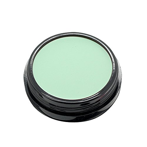 Green Concealer (Mallofusa Single Color Face Makeup Concealer Foundation Palette Creamy Moisturizing 0.49oz (Green))