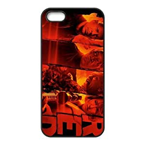 Custom RED Back Cover Case for iphone5,5S JN5S-178