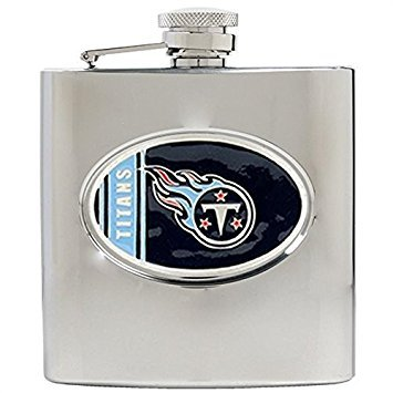 NFL Tennessee Titans 6oz Stainless Steel Hip Flask