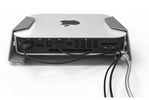 Maclocks MMEN76 Mac Mini Security Mount Enclosure (Silver) by Compulocks (Image #4)