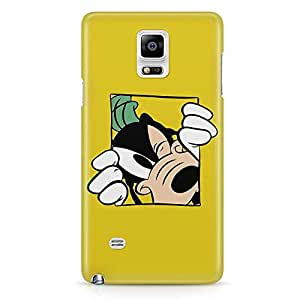 Loud Universe Goofy Yellow Design Samsung Note 5 Case Goofy Dog Samsung Note 5 Cover with 3d Wrap around Edges