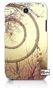 Aztec Mayan Vintage Dream Catcher Apple Iphone 5 Quality TPU Soft Rubber Case for Iphone 5/5s - AT&T Sprint Verizon - White Case