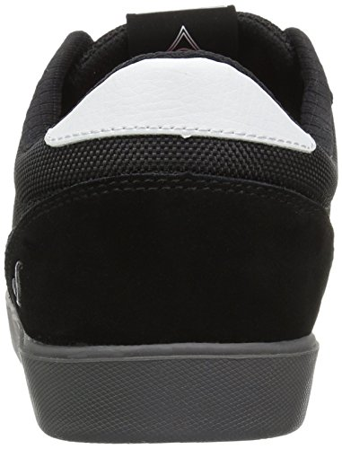 DVS Shoes Men's Pressure Sc Skate Shoe, White, 7 Black (Black Suede 002)