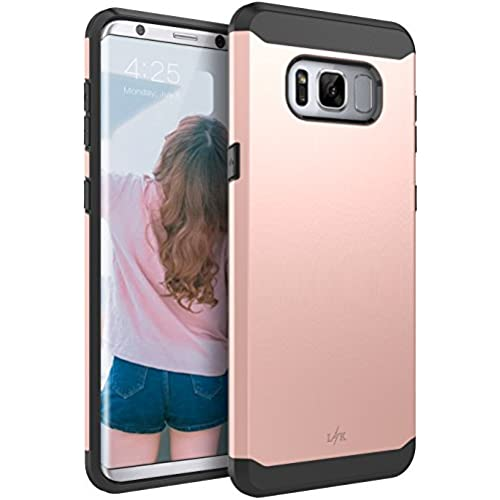 Galaxy S8 Case, LK [Gladiator Series] Shock Absorption Hybrid Armor Defender Protective Case Cover for Samsung Galaxy S8 (Rose Gold) Sales