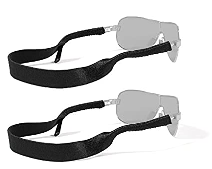 9546ac15c7e Image Unavailable. Image not available for. Color  Croakies Original  Standard Fit Neoprene Elastic Eyeglass and Sunglass Retainer ...