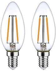 POWERPAC 2 PIECES X 2W E14 LED BULB - WARM WHITE (PP6021)