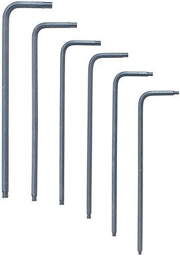 sizes 1//16-1//4-Inch Bondhus 12238 Set of 10 Hex L-wrenches Short Length
