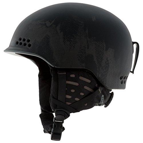(K2 Rival Pro Ski Helmet, Black, Small)