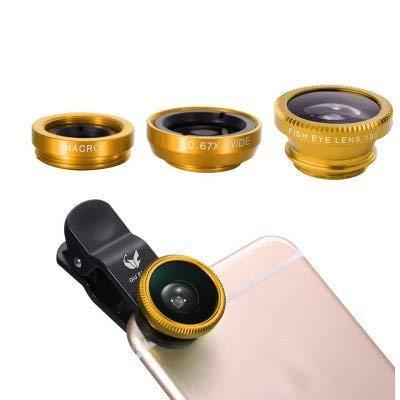 Amazon com: Google Pixel Gold Universal 3 in 1 Camera Lens