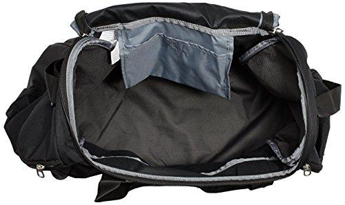 1d7c164ec04851 Nike Club Team Polyester Black Duffel Bag: Amazon.in: Bags, Wallets &  Luggage