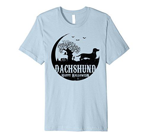 Mens DACHSHUND Dog Halloween Costume T-shirts XL Baby Blue
