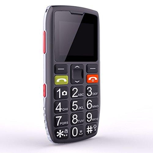 🥇 Teléfonos móviles para Mayores con Teclas Grandes