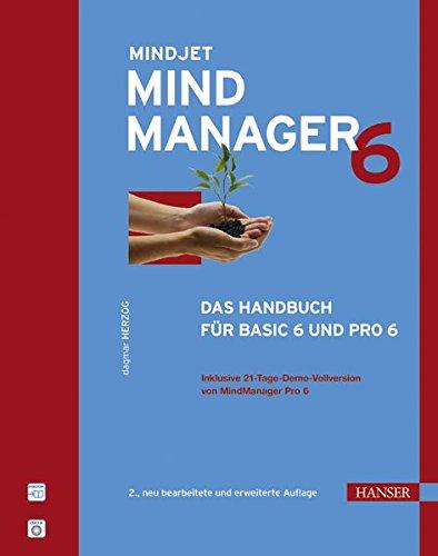 MindManager 6: Das Handbuch für Basic 6 und Pro 6. Mit CD-ROM