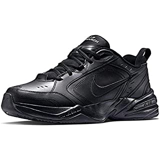 Nike Men's Air Monarch IV Cross Trainer, Black/Black, 11 4E US