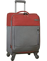 Nautica Harpswell 19 inch Luggage Expandable Spinner, Red