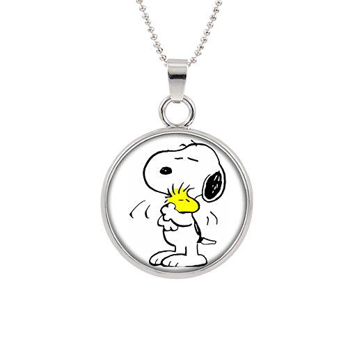 Charlie Brown Snoopy Pendant Necklace TV Movies Classic Cartoons Superhero Logo Theme Peanuts Sally Lucy Linus Woodstock Premium Quality Detailed Cosplay Jewelry Gift (Sally Charlie Brown Costumes)