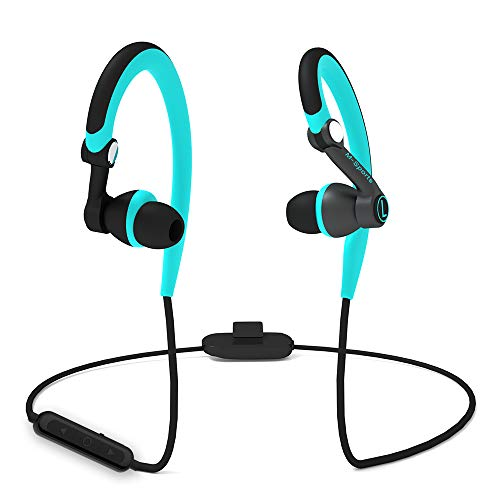 Sport Bluetooth Headphones, MUCRO Lightweight Comfort Wireless Earbuds with Mic, Noise Cancelling Secure Fit Sweatproof…
