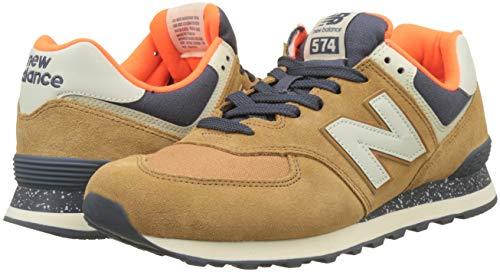 Hommes Balance Braun New Chaussures Orange Ml574ebe t7qI7Ywxd