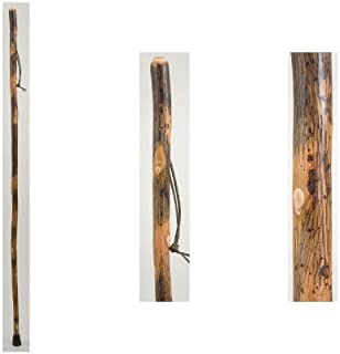 product image for Brazos Free Form Hickory Walking Stick Trekking Pole, Made in The USA