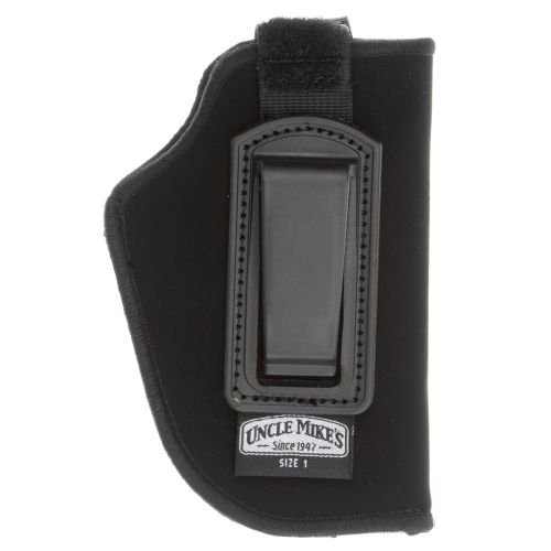 Uncle Mike's Kodra Nylon Inside-The-Pant Holster with Retention Strap (Black, Size 1, Right Hand), Outdoor Stuffs